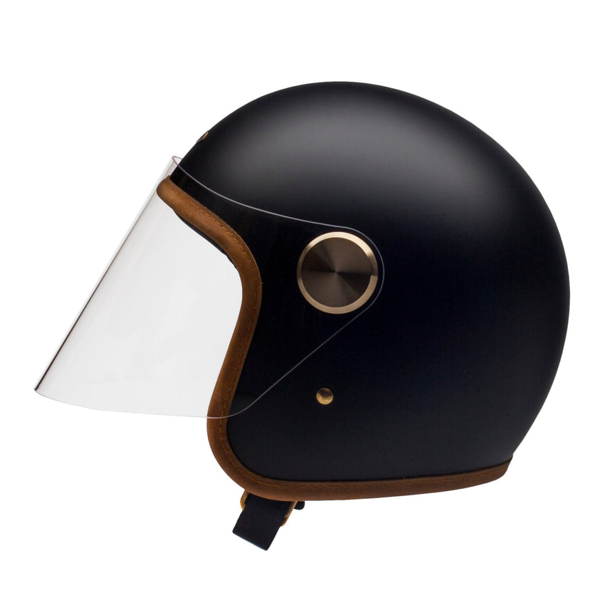 Hedon Stable Black Epicurist Helmet-Hedon-TheArsenale