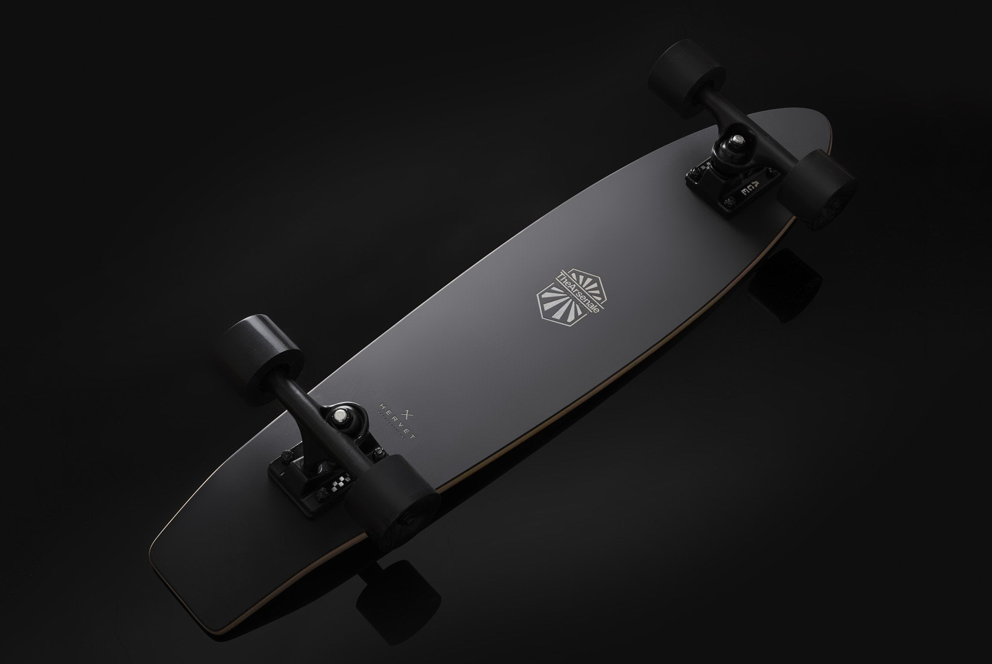 HERVET Manufacturier x TheArsenale Edition Skateboard-TheArsenale Edition-TheArsenale