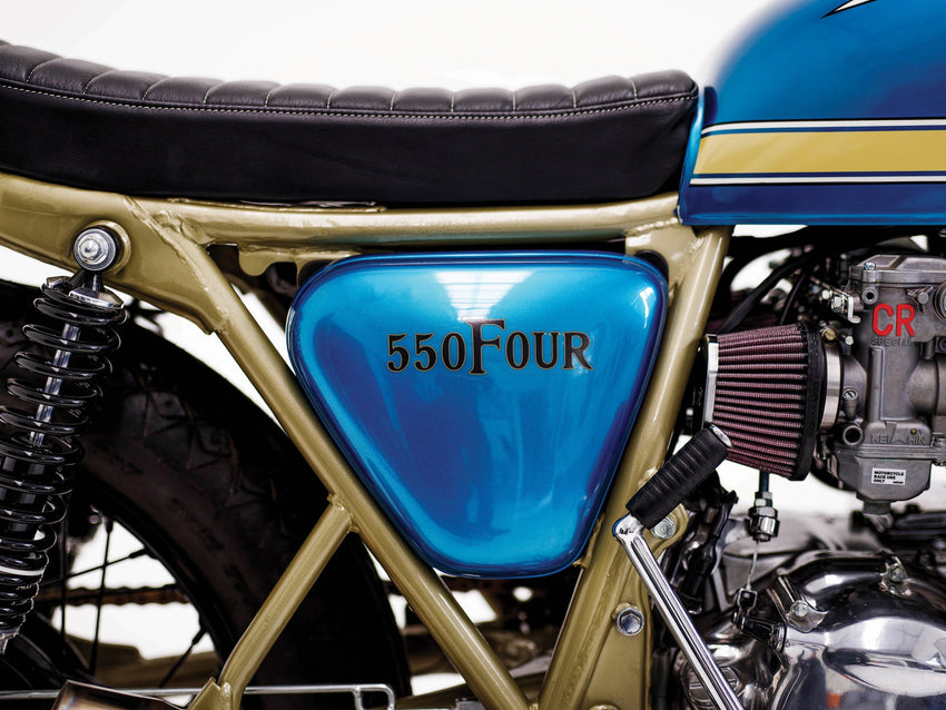 Honda CB650 Tracker #26-Herencia Custom Garage-TheArsenale