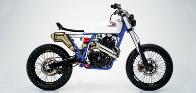 Honda XR600 Tracker #34-Herencia Custom Garage-TheArsenale