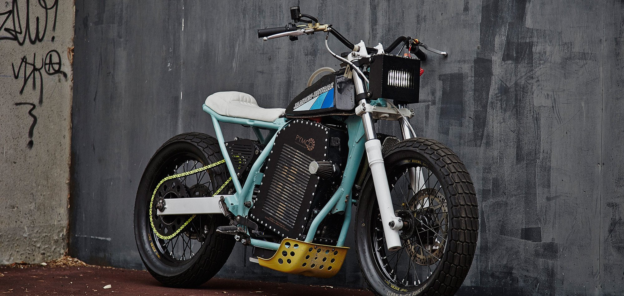 Jambon Beurre Tailored Electric Motorcycle Project