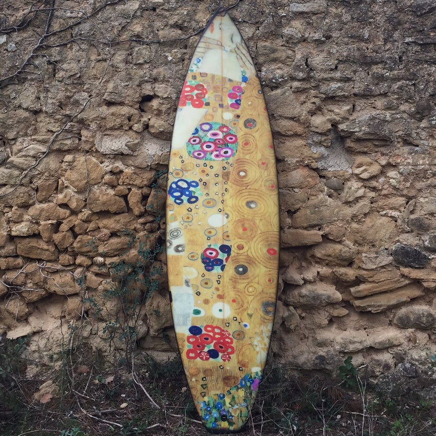 Klimt Surfboard-Boom-Art-TheArsenale