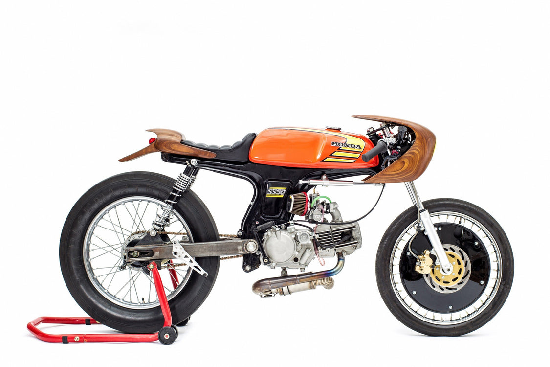 """La Chute"" Honda SS50-George Woodman Garage-TheArsenale"