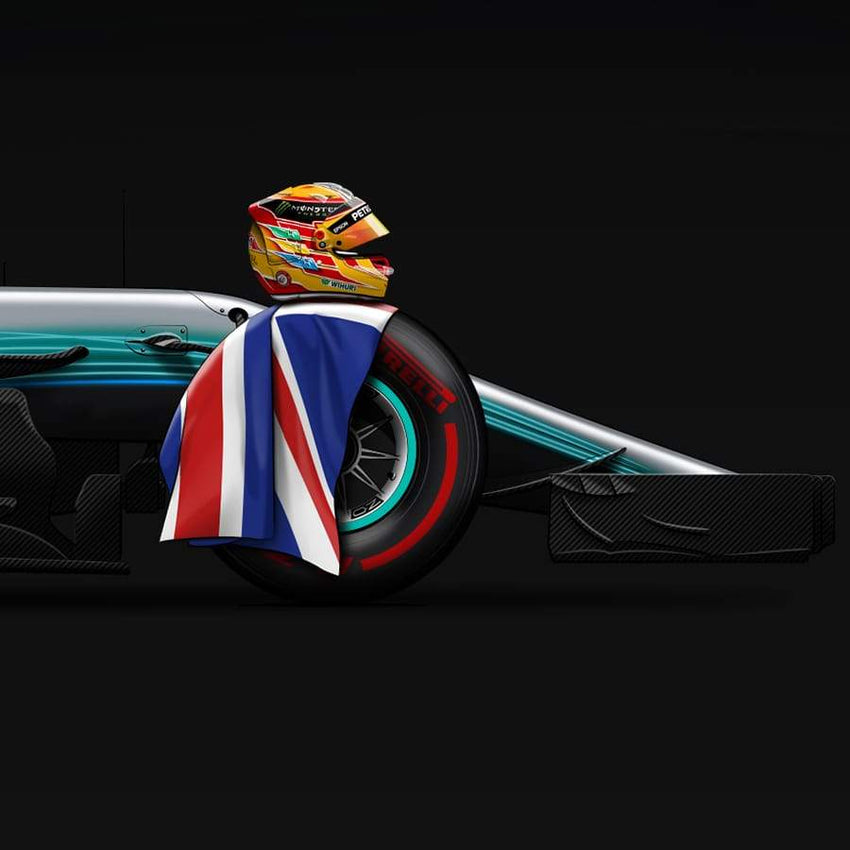 Lewis World Champion 2017 | Limited Edition-Last Corner-TheArsenale
