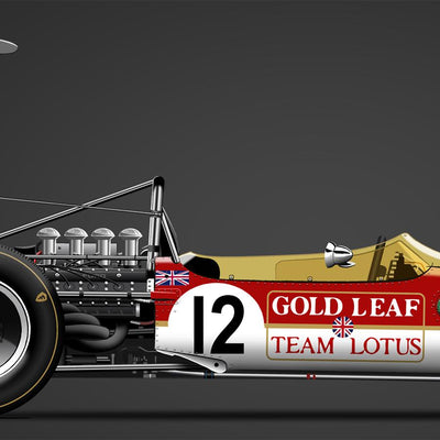 Lotus 49B-Ford G. Hill 1968-Last Corner-TheArsenale