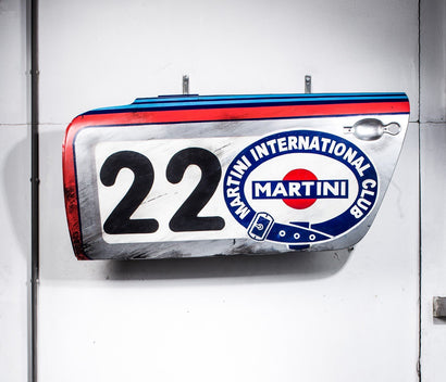 MARTINI 22 Door - Memorabilia-After The Race-TheArsenale