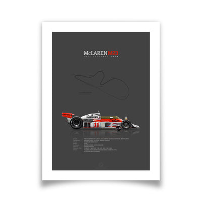 McLaren-Ford M23 Fuji Speedway 1976 After Race | Portrait-Last Corner-TheArsenale
