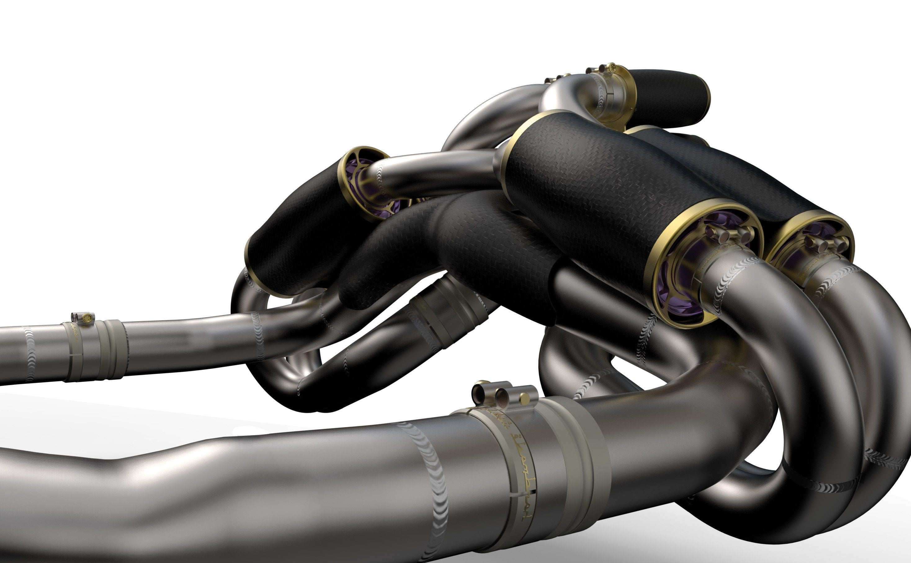 Pagani Zonda Exhaust System Supercars Gallery