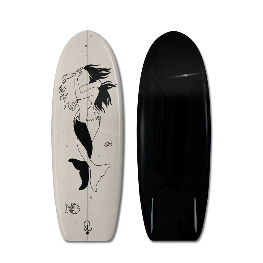 Petites Luxures MiniSimmons Surfboard-Boom-Art-TheArsenale