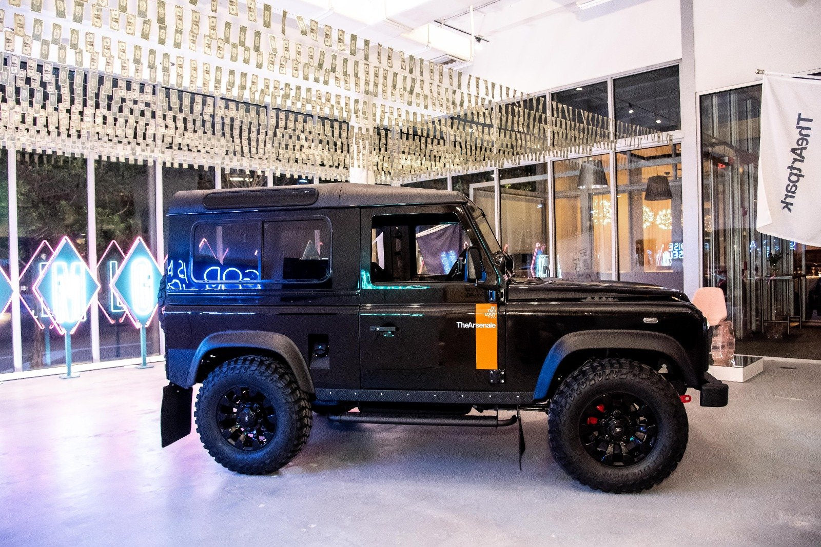 Petrology x TheArsenale Land Rover Defender 90