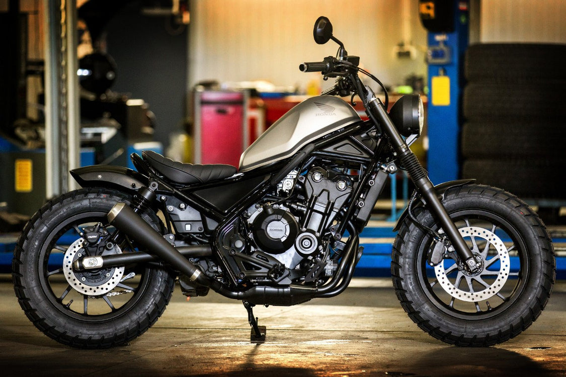 Red Hot Chili Customs Honda CMX500 Rebel-Red Hot Chili Customs-TheArsenale