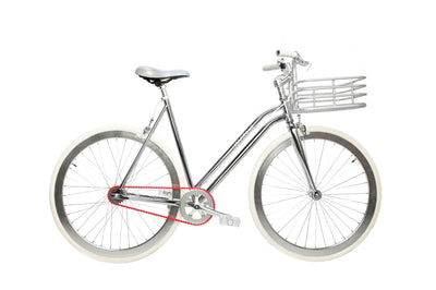 Regard Silver V3 Step-Through With Basket-Martone Cycling-TheArsenale