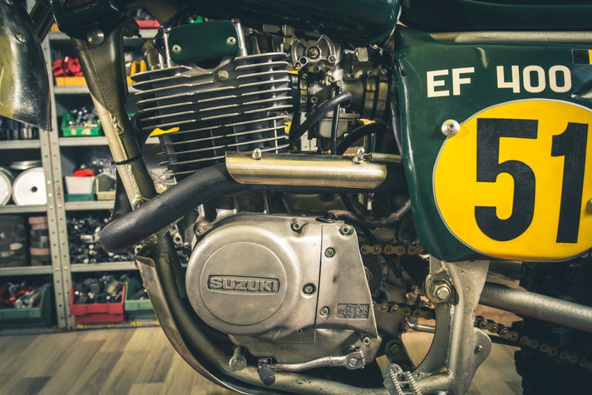 Suzuki EF400BB-Italian Dream Motorcycle-TheArsenale