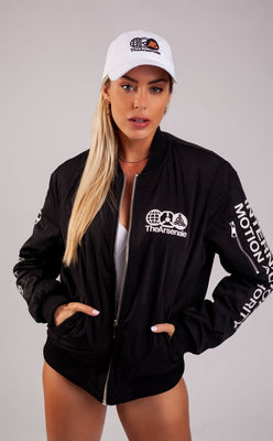 TheArsenale Bomber Jacket Black-TheArsenale-TheArsenale