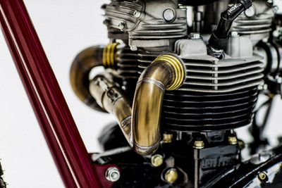 Triumph T140 Tracker #38-Herencia Custom Garage-TheArsenale