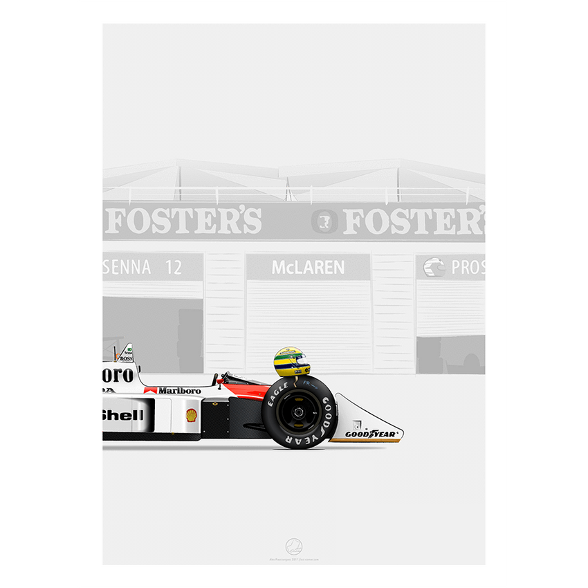 Waiting For Senna | Limited Edition-Last Corner-TheArsenale