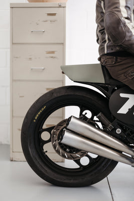 Yamaha XJ600 Café Racer-The Foundry Mc.-TheArsenale