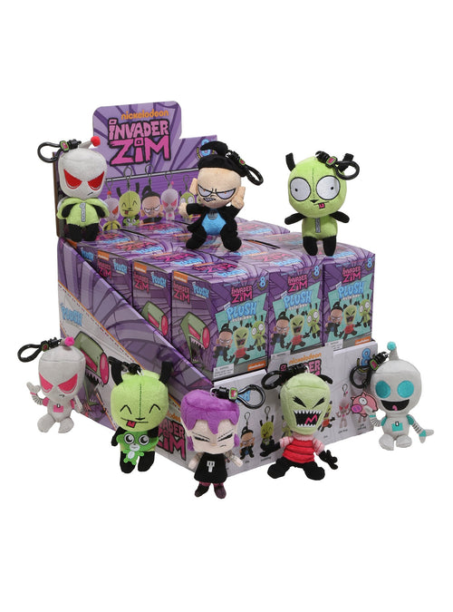 Plush Clips - Invader Zim