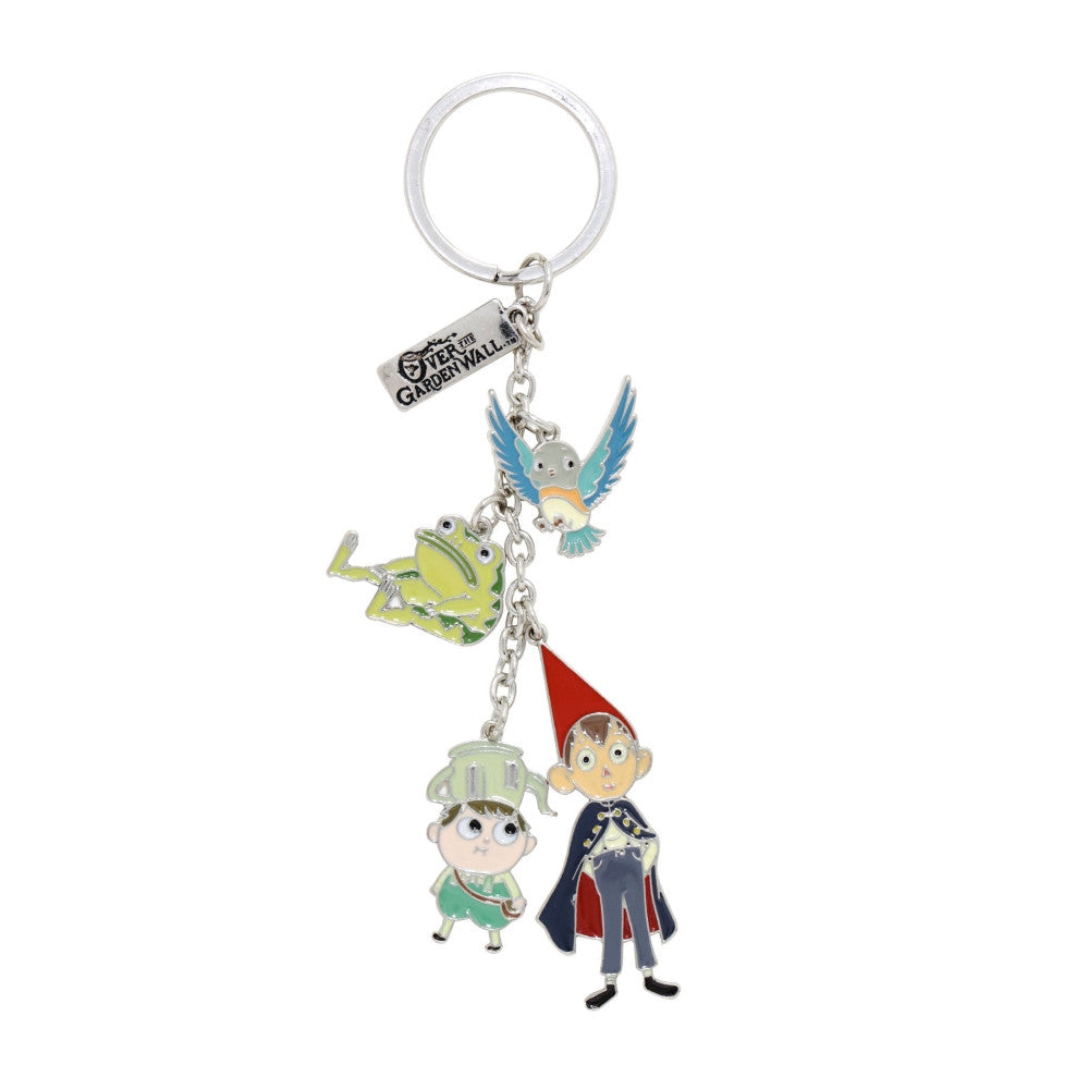 Garden Wall Charm Key Chain