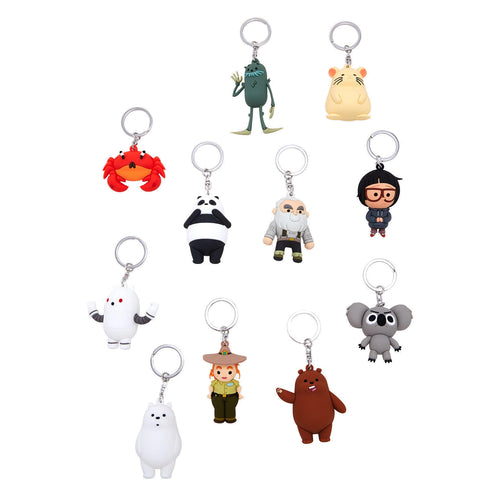 3D Foam Keychains - We Bare Bears