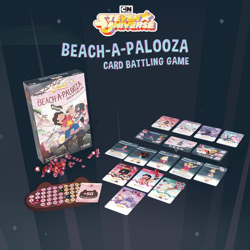 Steven Universe: Beach-a-Palooza Card Battling Game