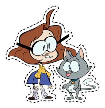 Ollie & Scoops Sticker