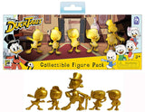 DuckTales 5-Piece Golden Figure Set - SDCC Exclusive w/ Bonus