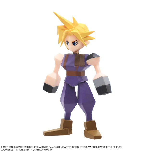 Final Fantasy VII Polygon Figure Blind Box