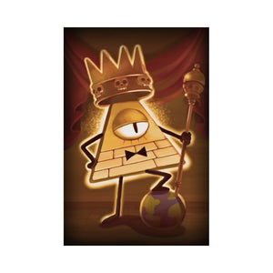 King Bill Portrait Canvas