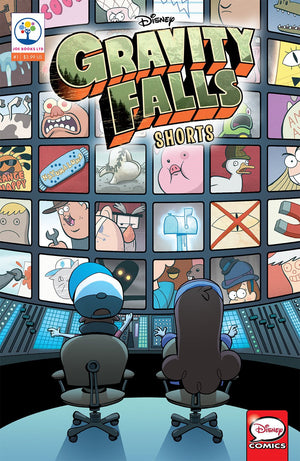 Gravity Falls Cinestory Comics