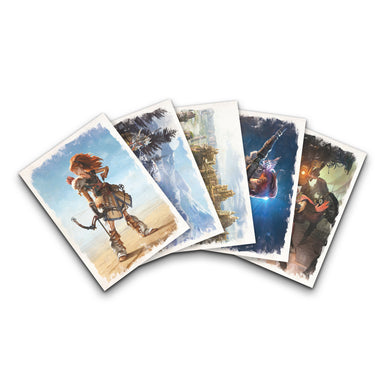 Horizon: Zero Dawn Art Cards