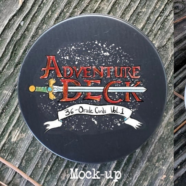 The Adventure Deck - Pocket-Sized Oracle Deck
