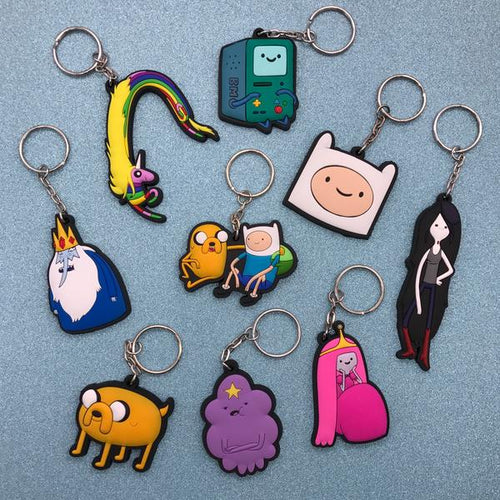 Adventure Time Rubber Keychains