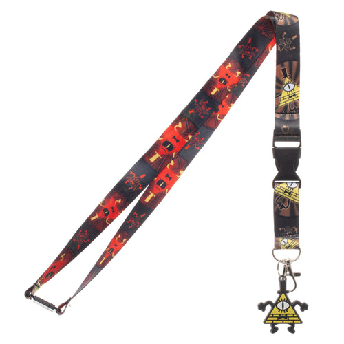 Bill Cipher Lanyard