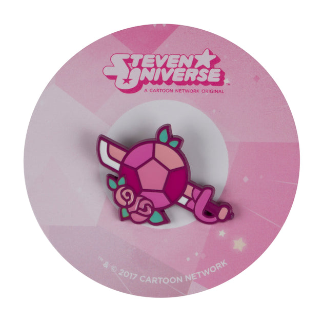 Rose's Sword & Shield Pin