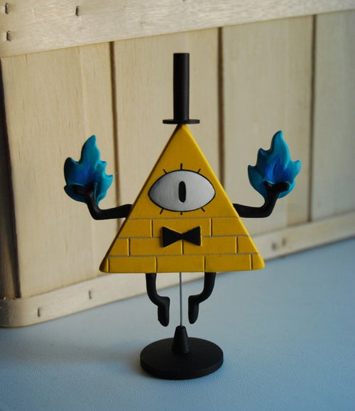 Bill Cipher Figure - Handmade - PRE-ORDER