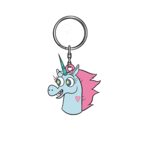 Pony Head Keychain