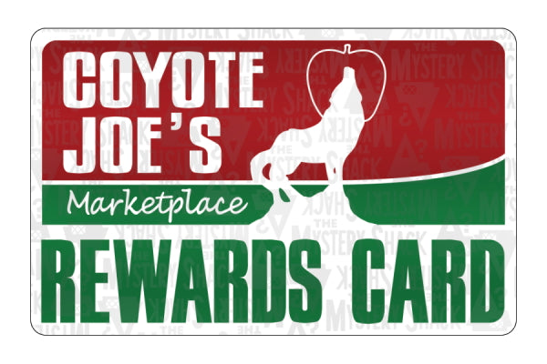 Coyote Joe's Marketplace Rewards Card