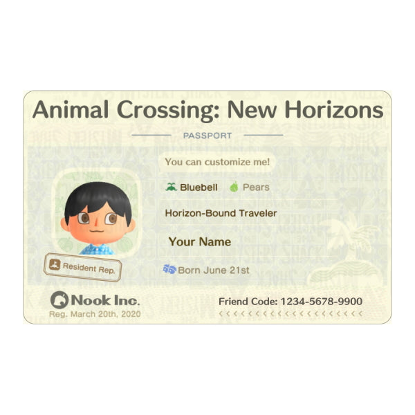 New Horizons Passport ID