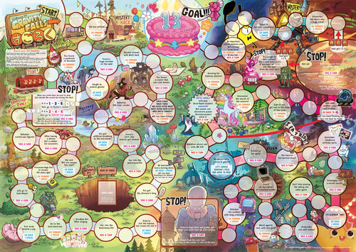 Gravity Falls Sugoroku Board Game