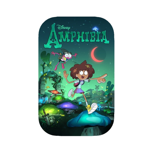 Amphibia Badge Button
