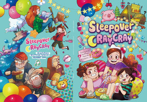 Sleepover Cray-Cray Fan Book
