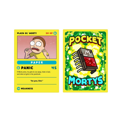 Pocket Morty Starter Card
