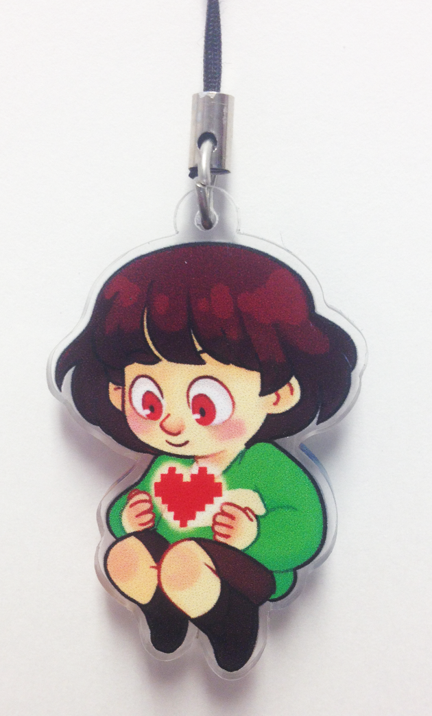Undertale Doubled-Sided Charm Keychain