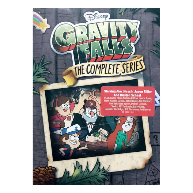 Gravity Falls: The Complete Series - Standard Edition DVD