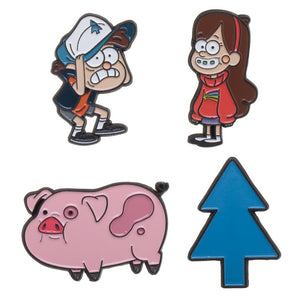 Gravity Falls Lapel Pin Set