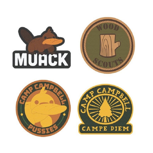 Camp Camp Patch Set
