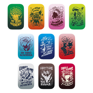 My Hero Academia Badge Button Set