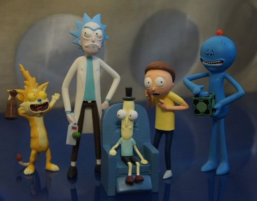 Rick and Morty Handmade Figures
