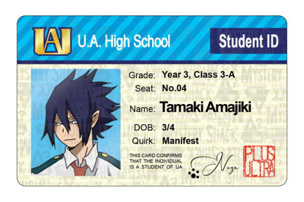 UA Student IDs - Other